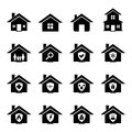 House icon set for your design Royalty Free Stock Photography