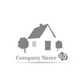 House icon Vector illustration Abstract background Royalty Free Stock Photo
