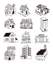 House icon, vector illustration. Royalty Free Stock Photo