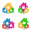House Icons Stock Photo