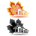 House Icons For Real Estate Bu...