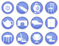 House icons set a of Royalty Free Stock Images