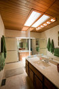 House interior bathroom Stock Photography