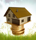 House investment icon symbol Stock Images