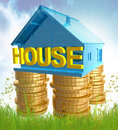 House investment icon symbol Stock Photo