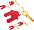 House keys Royalty Free Stock Photography
