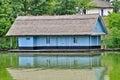 House on the lake herastrau bucharest romania Stock Images
