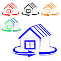 House logo Royalty Free Stock Image