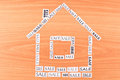 House made of paper SALE Stock Photography