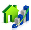 House market Business Stock Photography