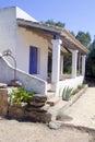 House medelhavs- white Arkivbilder