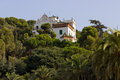 House museum gaudi park guell barcelona spain Royalty Free Stock Photography