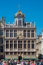 House named Le Roy d`Espagne in Brussels Royalty Free Stock Photo