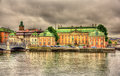 House of nobility riddarhuset in stockholm sweden Royalty Free Stock Photography