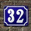 Number thirty two  - 32