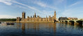 The House of Parliament and the Clock Tower Stock Photography