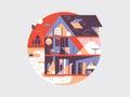 House planning illustration