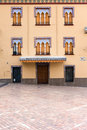 House on Plaza del Triunfo Stock Images