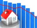 House prices Royalty Free Stock Photo