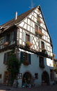 House in Riquewihr Royalty Free Stock Image
