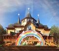 House of  russian Santa Claus great Ustug Royalty Free Stock Photo
