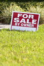 House For Sale By Owner Sign Royalty Free Stock Photo