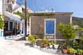 House on samos in greece Stock Photo