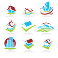 House set of icons. Vector Stock Photo