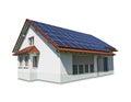 house solar Royalty Free Stock Photo