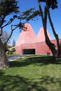 The house of stories paula rego designed by pritzker prize eduardo souto de moura Royalty Free Stock Photo