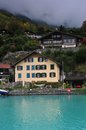 House in switzerland seaside and hotel Royalty Free Stock Photos