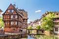House tanners petite france district strasbourg Royalty Free Stock Photo