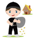 House thief Royalty Free Stock Photography