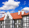 House with Traditional Half-Timbered style Royalty Free Stock Photo