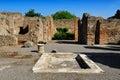 The House of the Tragic Poet, Pompeii Royalty Free Stock Photo