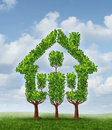 House Tree Royalty Free Stock Photography