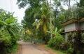 House in the tropics,Sri Lanka Royalty Free Stock Photo