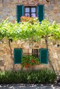 House in Tuscany, Italy. Royalty Free Stock Photo