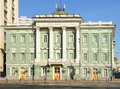 House of the unions moscow assembly of the nobility russia Royalty Free Stock Image
