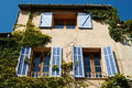 House in Vauvenargues, French Provence Stock Photo