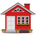 House vector illustration of detailed beautiful icon Royalty Free Stock Photography