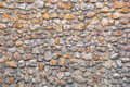 House wall made of stones Stock Image