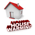 House warming Royalty Free Stock Photo