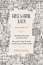 House warming party invitation Royalty Free Stock Photo