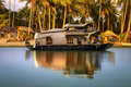 Houseboat in India Royalty Free Stock Photo