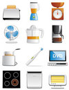 Household appliance icons Royalty Free Stock Photo
