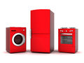 Household appliances picture of on a white background Stock Photo