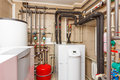 Household Boiler House With He...