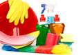 Household chemical goods Royalty Free Stock Photo