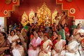 Household Durga Festival of Kolkata Royalty Free Stock Photography